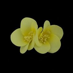 прекрасный Искусственного шелка Цветы и перья (042050404)