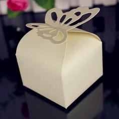 Encantador Borboleta Cubi Papel cartão Caixas do Favor (conjunto de 12) (050146428)