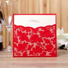 Stile Floreale Wrap & Pocket Invitation Cards (Set di 50) (114038991)