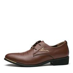 Hommes Similicuir Dentelle Chaussures habillées Travail Chaussures Oxford pour hommes (259172241)