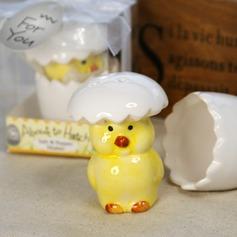 штриховка Курица керамика соль и перец шейкеры с Ленты/Тег (051024167)