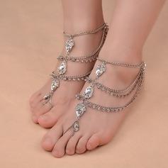 Rhinestone Alloy Foot Smykker (Selges i ett stykke) (107130779)