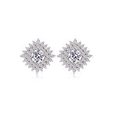 Gioielli bella zircone placcato platino Regali (129166769)