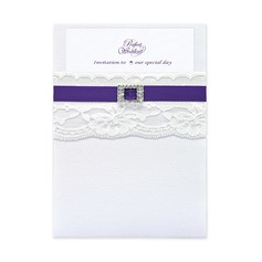 Stile classico Wrap & Pocket Invitation Cards (Set di 10) (118040276)