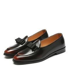 Мужская кожа Пенни Лоафер вскользь Men's Loafers (260171624)
