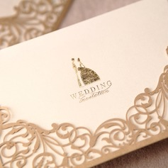 Bride & Groom stil Wrap & Pocket Invitation Cards (Sats om 50) (114024220)