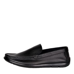 Мужская натуральня кожа U-Tip вскользь Men's Loafers (260187150)