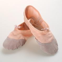 Vrouwen Zeildoek Flats Ballet Dansschoenen (053104922)