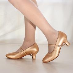 Женщины кожа На каблуках Современный Джаз Обувь для танцев (053166329)
