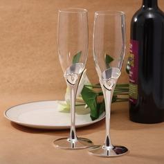 Hjerte utforming Blyfritt Glasset Skåle Glass Sett (Sett Av 2) (126032351)