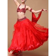 Женщины Одежда для танцев хлопок полиэстер шифон Танец живота Инвентарь (115086467)