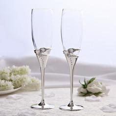 Ringer utforming Blyfritt Glasset Skåle Glass Sett (Sett Av 2) (126051242)