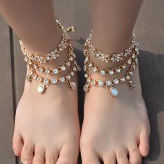 Rhinestone Alloy Foot Smykker (Selges i ett stykke) (107130783)