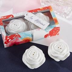 Прекрасная роза керамика соль и перец шейкеры (Набор из 2 штук) (051066984)