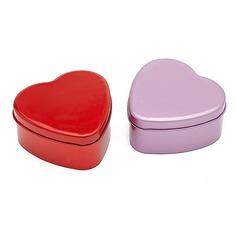 простой В форме сердца услуги олово (набор из 12) (050054845)