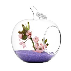 яблоко формы стекло ваза (128048473)