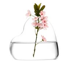 Hjärta Formad Glas Vas (128048472)