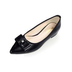 Kvinnor Konstläder Flat Heel Platta Skor / Fritidsskor skor (086094325)
