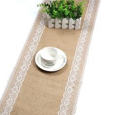 Tafelkleed Linnen (Verkocht in één stuk) Eenvoudig Tafel Middenstuk (128152264)
