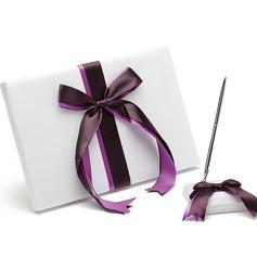 Curvado Fitas Livro de visitas & conjunto de canetas (101036831)