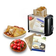 Modern Non Stick uudelleenkäytettäviä leivänpaahtien laukut voileipää ja grillata (Sarja 3) Ei ole Henkilökohtaista Lahjat (129140463)