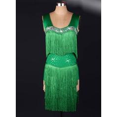 Женщины Одежда для танцев Капрон Латино Инвентарь (115091496)