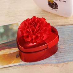 Цветочный дизайн В форме сердца услуги олово с Цветы (набор из 12) (050096021)