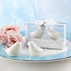 Птица дизайн керамика соль и перец шейкеры (Набор из 2 штук) (051024605)