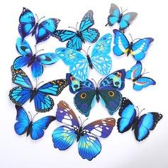 3D/DIY Aufkleber PVC Schmetterling/Dekorative Accessoires (Satz von 12) (131058165)