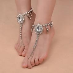 Rhinestone Alloy Foot Smykker (Selges i ett stykke) (107130781)