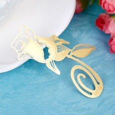 Lovely Rose Zinc Alloy Bookmarks (051015933)
