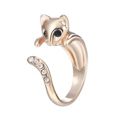 Heerlijk Unique Cat Women's Fashion Rings Geschenken (129140494)