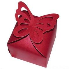 Encantador Borboleta Cubi Papel cartão Caixas do Favor (conjunto de 12) (050146426)