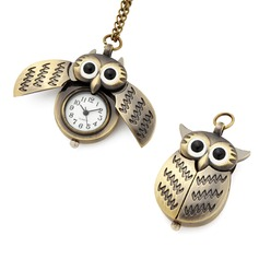 Owl Shaped Montre de poche (129054305)