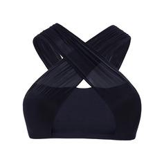 Женщины Одежда для танцев Спандекс нейлон Йога Практика Балетное трико (115168355)