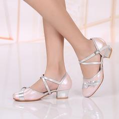 Детская обувь Натуральня кожа Сандалии Бальные танцы Обувь для танцев (053117617)