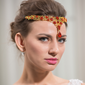 восхитительно сплав с горный хрусталь женские ювелирные изделия волос (011040343)