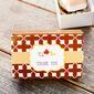Cubic Kaart Papier Bedank Doosjes (Set van 12) (050146435)