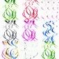 Simples/Clássico/Nice Bonito PVC Decorações de Casamentos (conjunto de 5) (131174291)