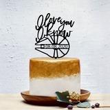 Personalizado Dulce Amor Acrílico Decoración de tortas (119202056)