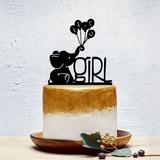 Es una muchacha Acrílico Decoración de tortas (119201371)
