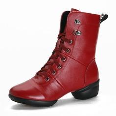 Naisten Aitoa nahkaa Tanssi sneakers Modern Tanssi sneakers Tanssisali Tanssikengät (053182626)