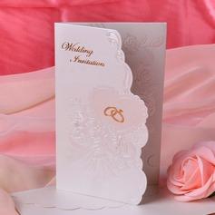 Kukka Tyyli Tri-Fold Invitation Cards (Sarja 50) (114033304)
